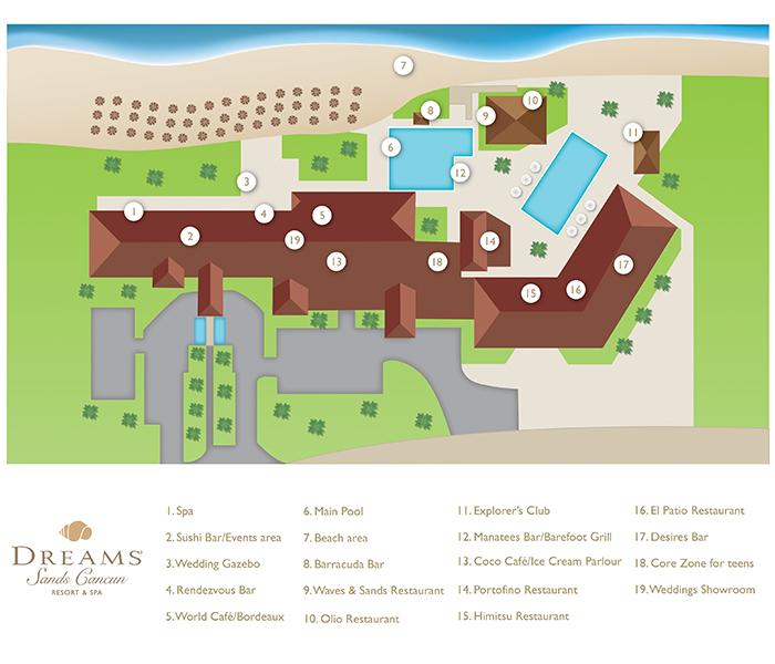 Dreams Sands Cancun Resort Amp Spa Travel By Bob
