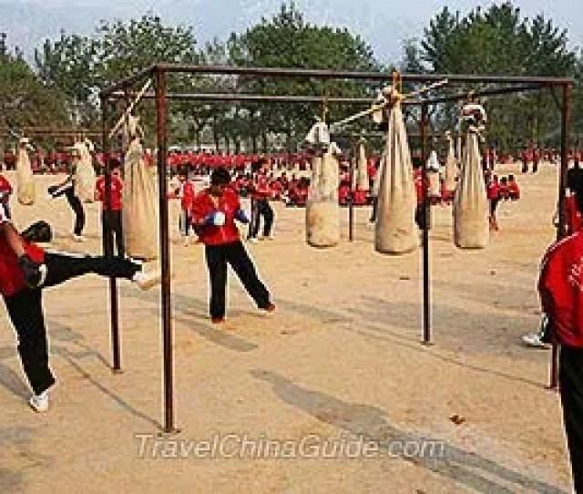 Kungfu Trainning