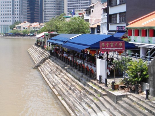 Singapore attractions- Boat Quay