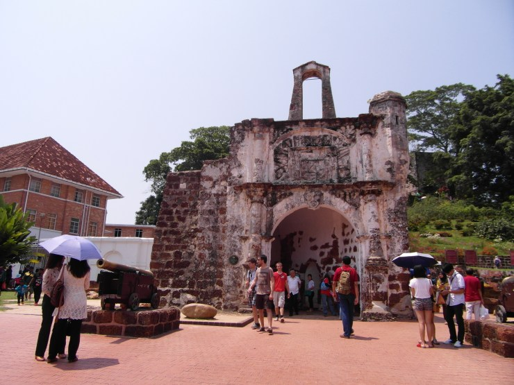 Malacca top 10 Attractions - A Famosa