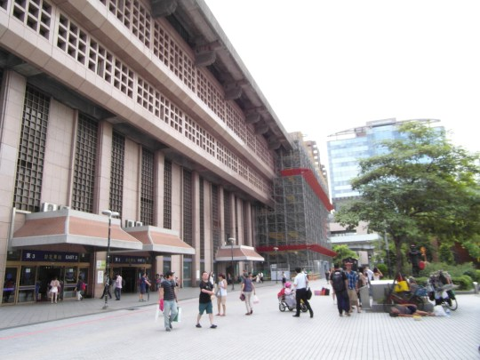 Taipei Travel Guide- Taipei Main Station