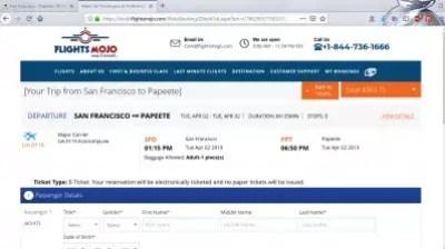 How is flightmojo flight booking? Flights Mojo reviews : Entering passenger information