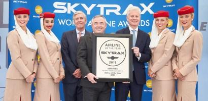 Emirates wybrane najlepszymi liniami na świecie w plebiscycie Skytrax World Airline Awards 2016