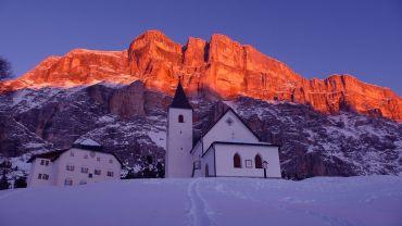 Magia nart o świcie w Trentino