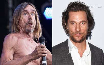 Matthew McConaughey w duecie z Iggym Popem.
