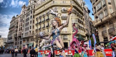 Walencja, Hiszpania – Święto Ognia, Fallas de San Jose