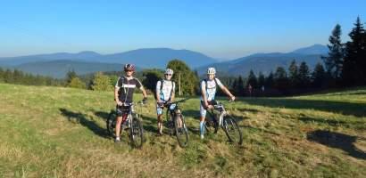 Czeskie Beskidy na rowerze
