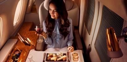 Emirates – latająca restauracja światowej klasy