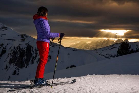 We włoskim Trentino jazda na nartach od świtu do późnego wieczora