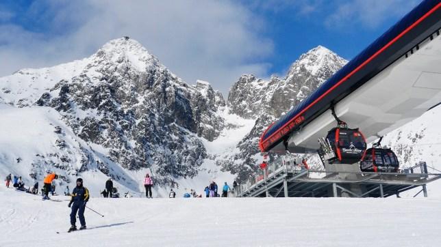 Otwarcie sezonu narciarskiego w Tatrzańskiej Łomnicy