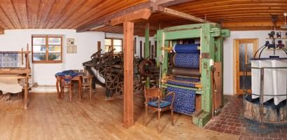 Modrodruk – dawna, czeska technika druku wpisana na listę UNESCO
