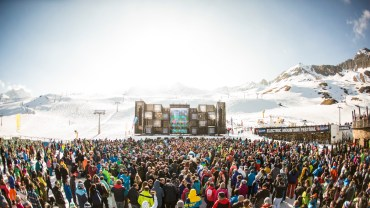 Sölden celebrates the Electric Mountain Festival