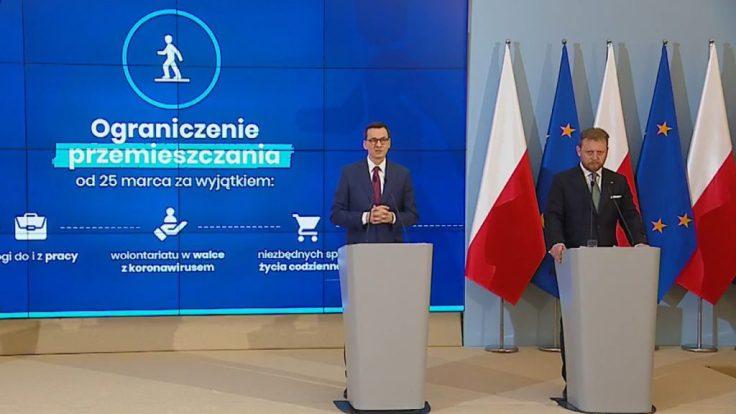 Polska – kolejne obostrzenia w związku z koronawirusem!