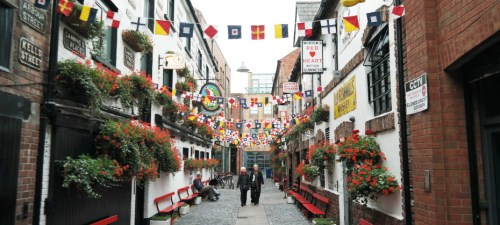 Enjoy vibrant Belfast, Northern Ireland!