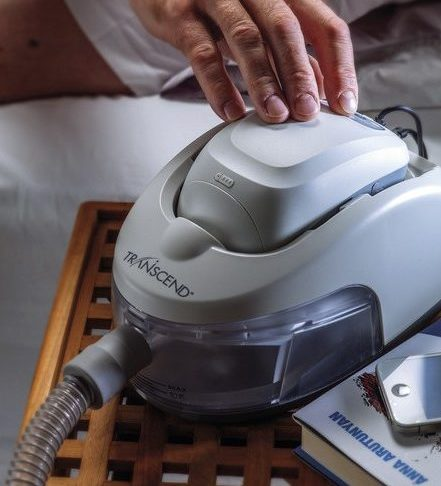 Transcend Portable CPAP Machine With Heated Humidifier