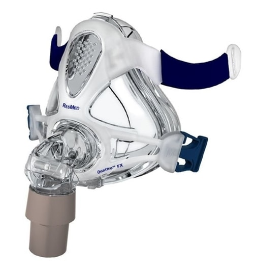 Most Comfortable CPAP Mask For Mouth Breathers - ResMed Quattro FX Frame System With Cushion