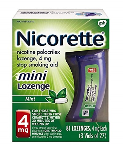 Sleep Apnea Treatment Options - Nicorette Nicotine Lozenges