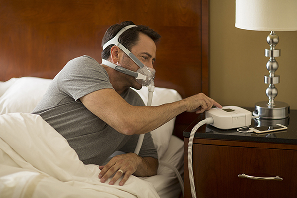 Stop Snoring Mouthpiece - Dreamstation Auto CPAP Machine
