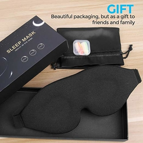 5 Steps On How To Sleep Better At Night - Ergonomic Sleep Mask Gift Set