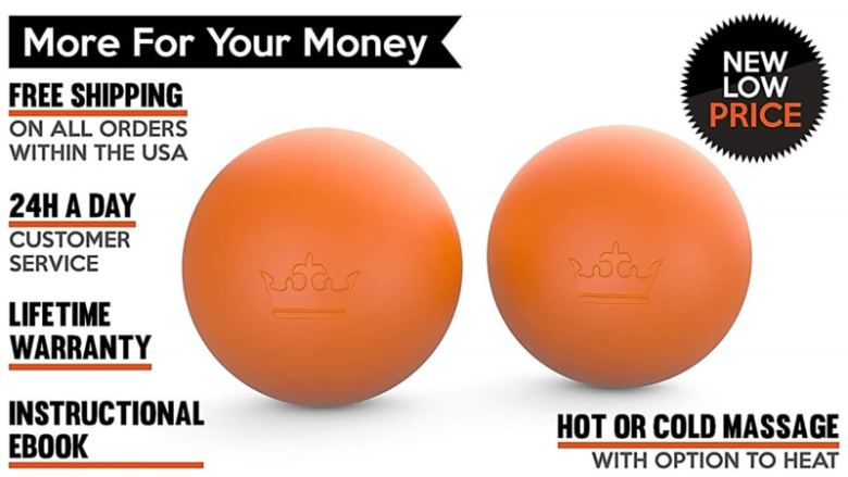 5 Steps On How To Sleep Better At Night - Massage Ball Set