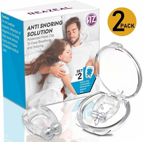Best Anti Snoring Devices To Stop Snoring - Anti Snoring Nose Clip Device
