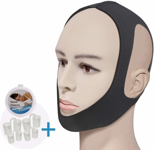 Best Anti Snoring Devices To Stop Snoring - Feeke Anti Snoring Chin Strap