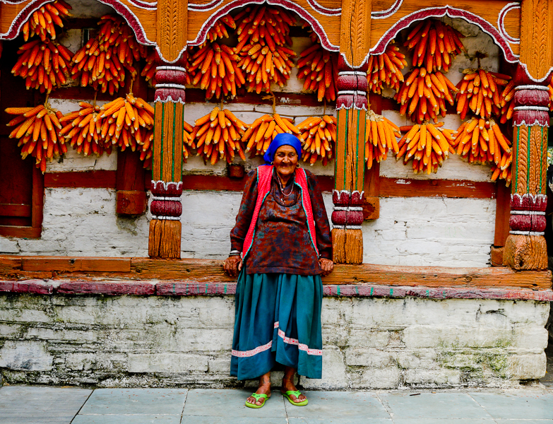 Have you heard of the Corn Village near Mussoorie?