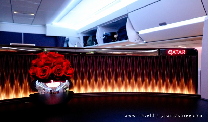 BUSINESS CLASS QATAR AIRWAYS