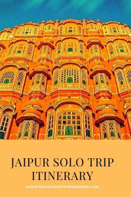 Jaipur Solo Trip Itinerary