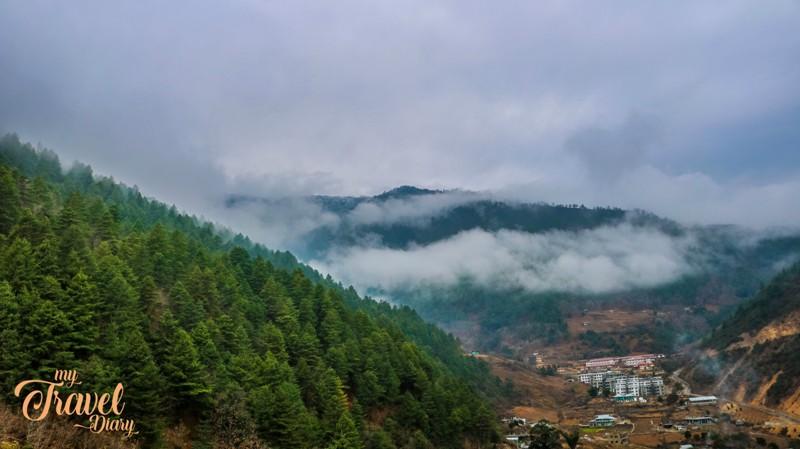 Breathtaking landscape of Dirang Valley, Arunachal Pradesh