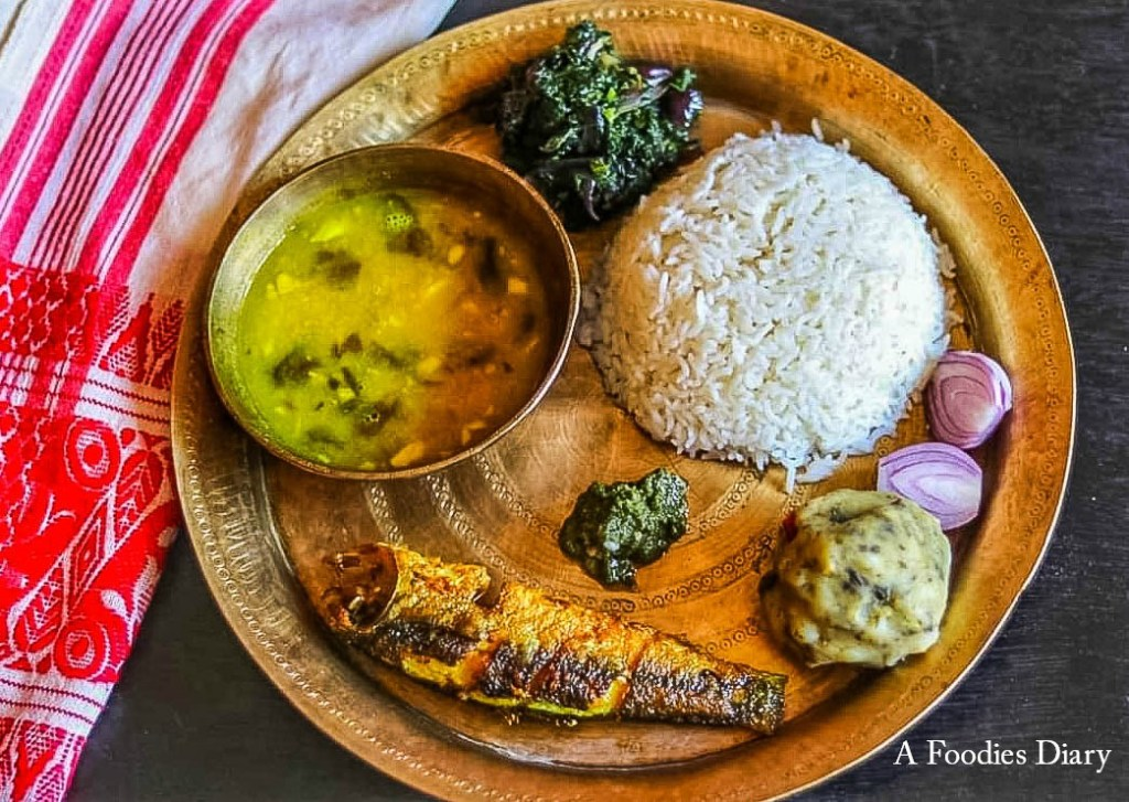 Authentic Traditional Assamese Dishes: Traditional Assamese Thali