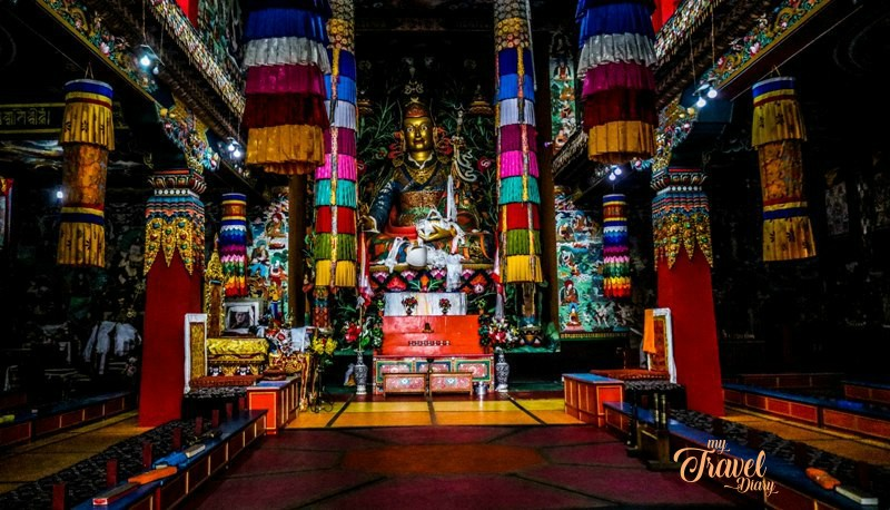 Visiting The Khinmey Monastery is one of the must have offbeat experiences in Tawang, Arunachal Pradesh