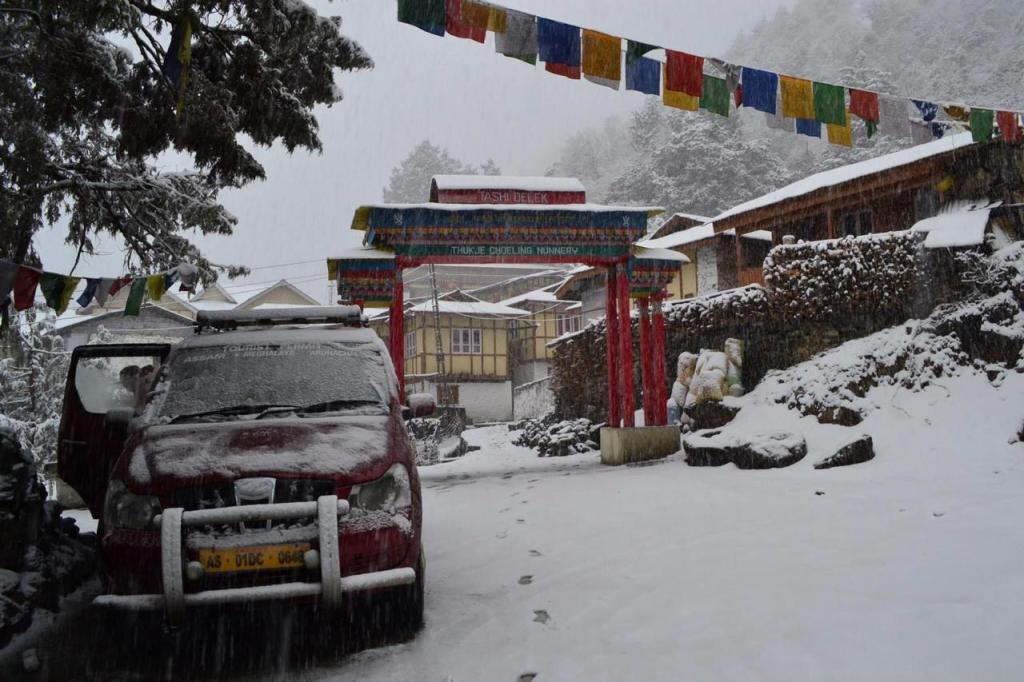 Thukje Choeling Nunnery is one of the offbeat places in Tawang, Arunachal Pradesh