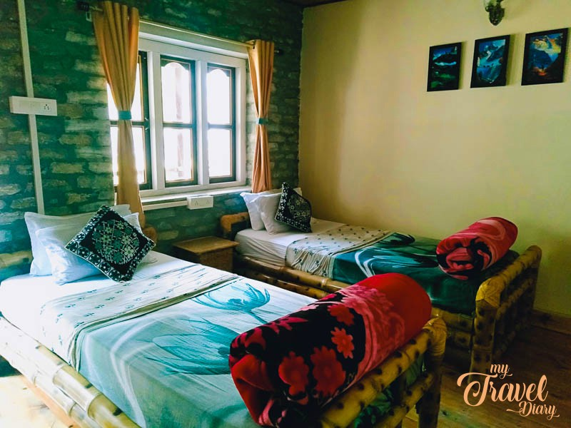 Rooms at Dirang Boutique Cottages