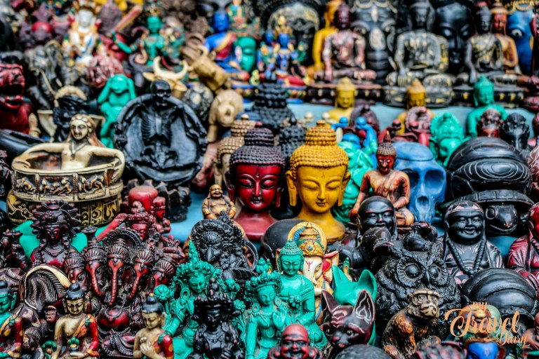 Buying souvenirs in Thamel Neighbourhood is not to miss in Kathmandu