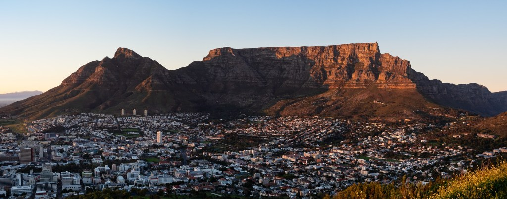 Hiking to Table Mountain is a must do thing in South Africa and highly recommended