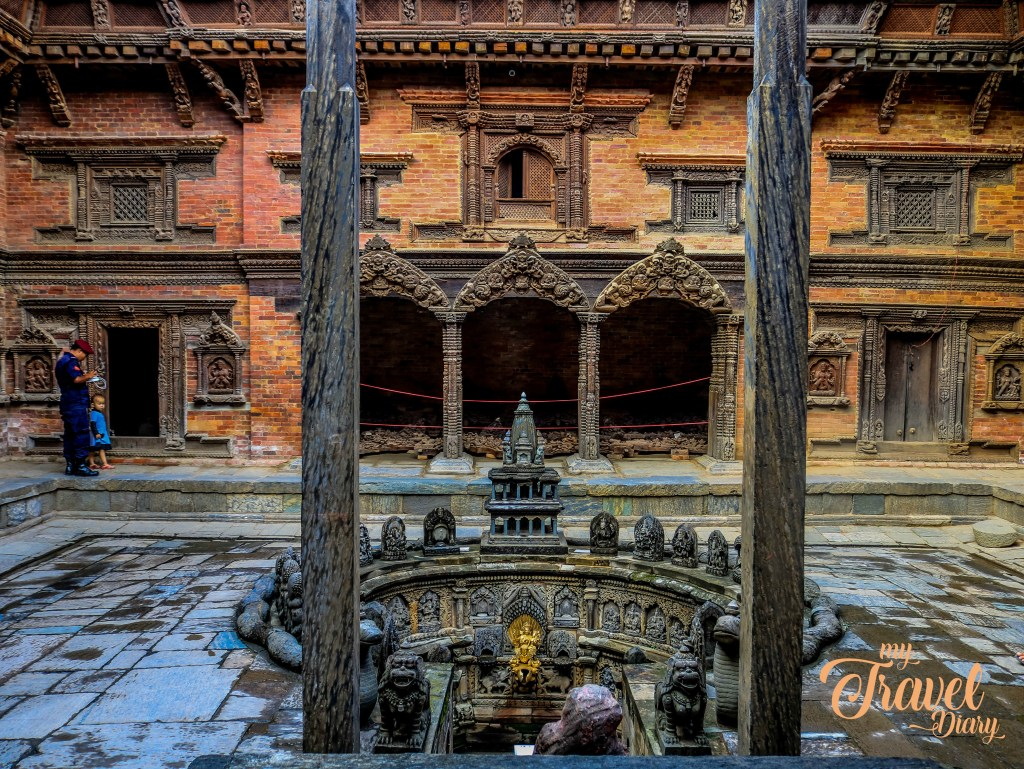 Courtyard of Patan Palace in Kathamndu