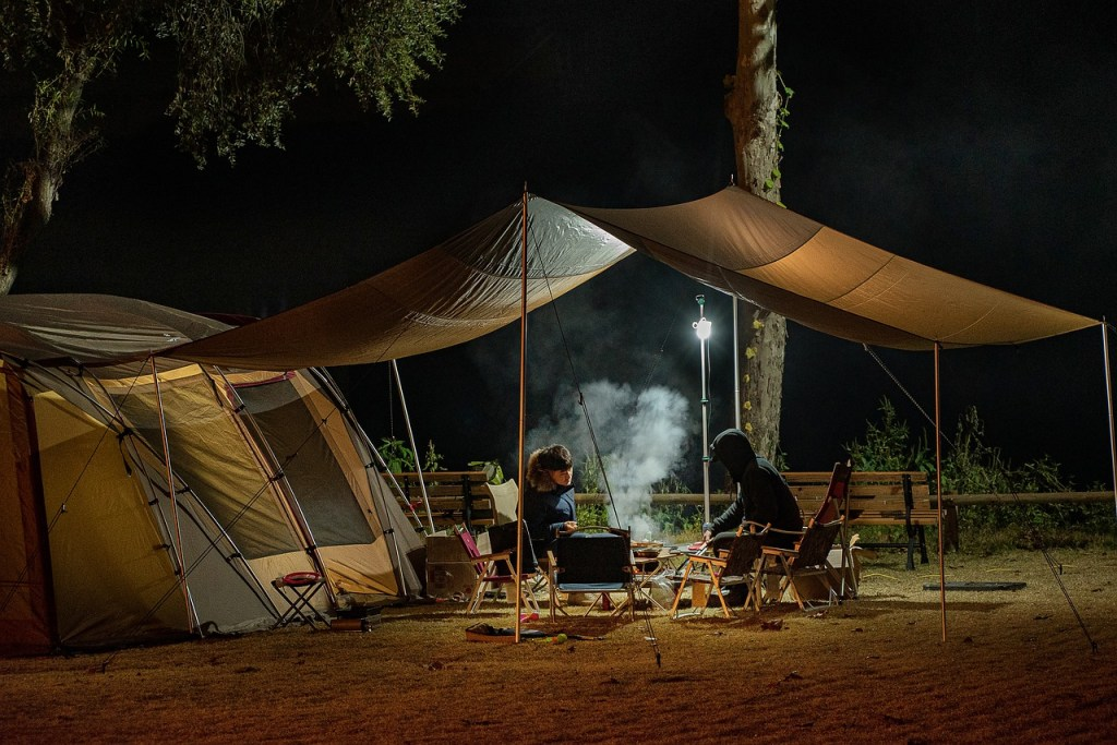 Couple camping over weekend. Find out Safety Tips On Weekend Camping Amidst The Pandemic