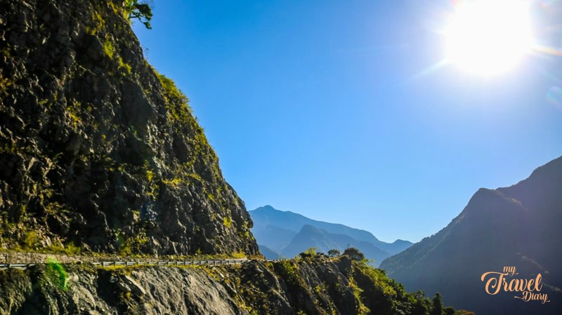 Road to Anini in Arunachal Pradesh