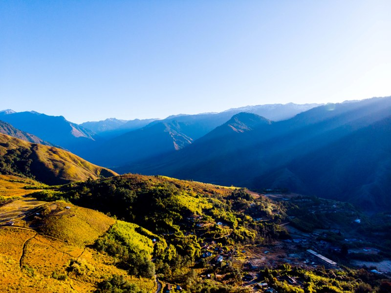 Sunrise view in Anini