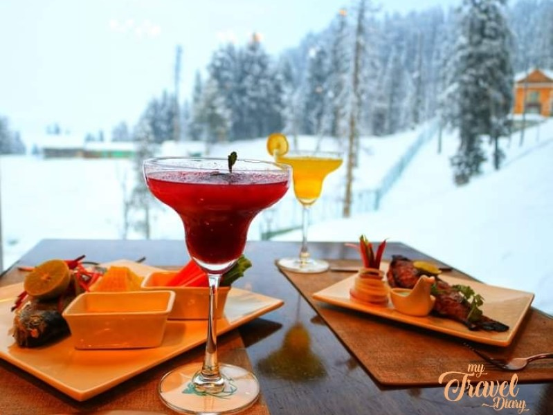 Sit back and enjoy a romantic lunch at the Khyber Himalayan Resort & Spa