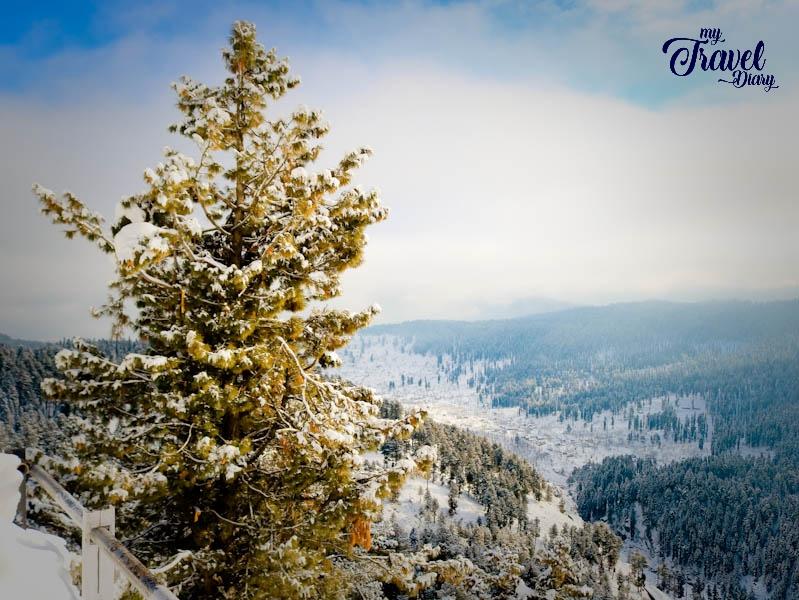 Snowy Landscape of Gulmarg_Kashmir