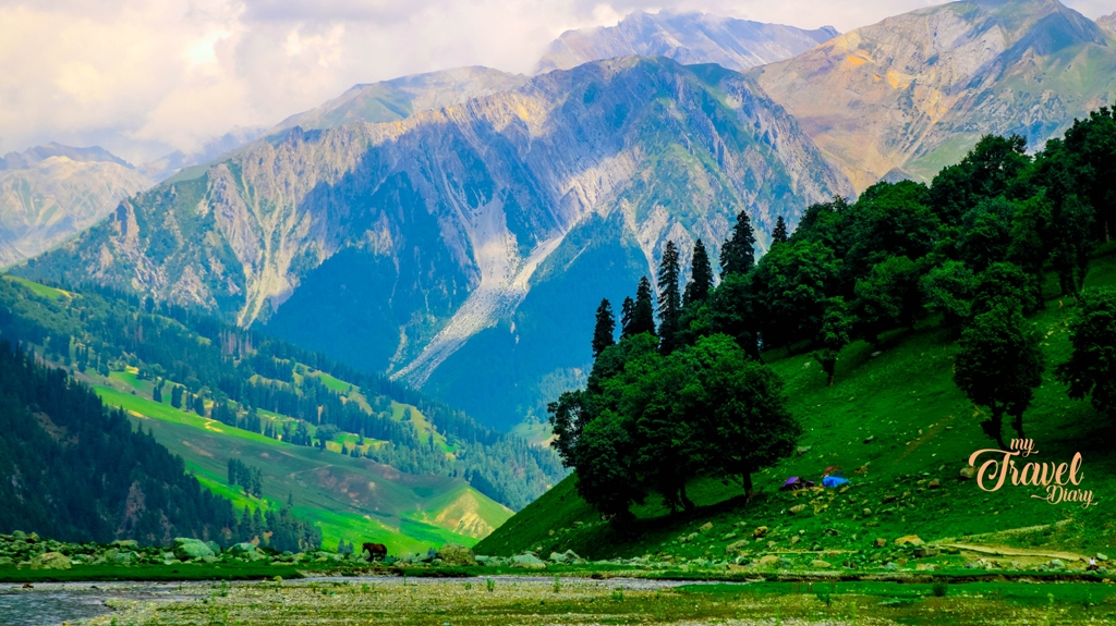 The Meadow of Gold , the gorgeous valley of Kashmir