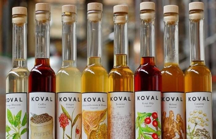 KOVAL_Distillery_Chicago_liqueurs