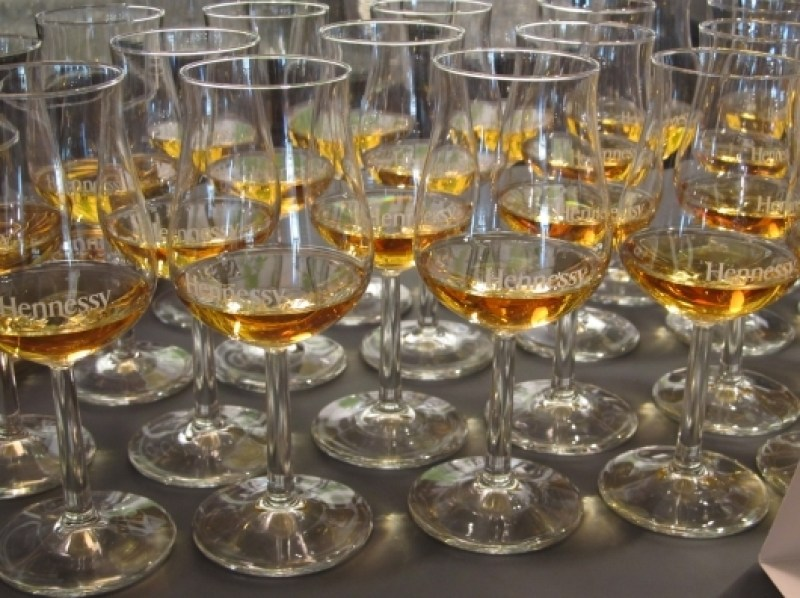 A Tasting Session at Hennessy in Cognac