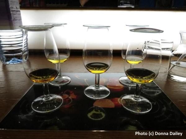 Learning the art of whisky blending at the Cardhu Distillery during the Spirit of Speyside Whisky Festival