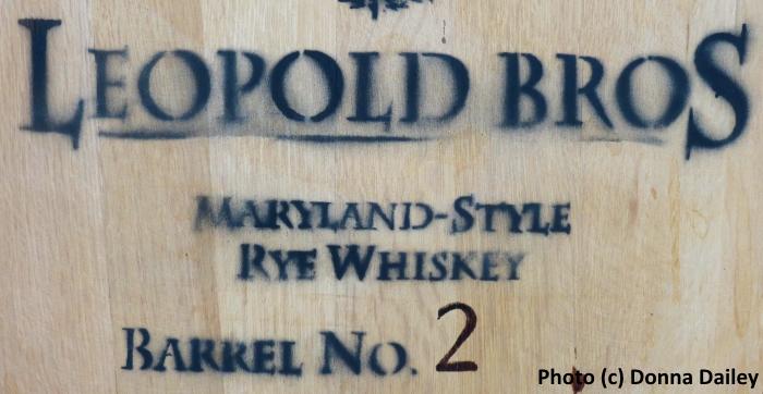 Leopold_Brothers_Distillery_Denver_barrel_stencil