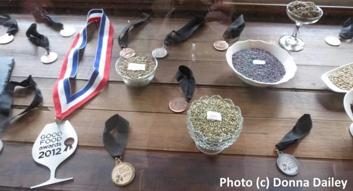 Leopold_Brothers_Distillery_Denver_medals_botanicals