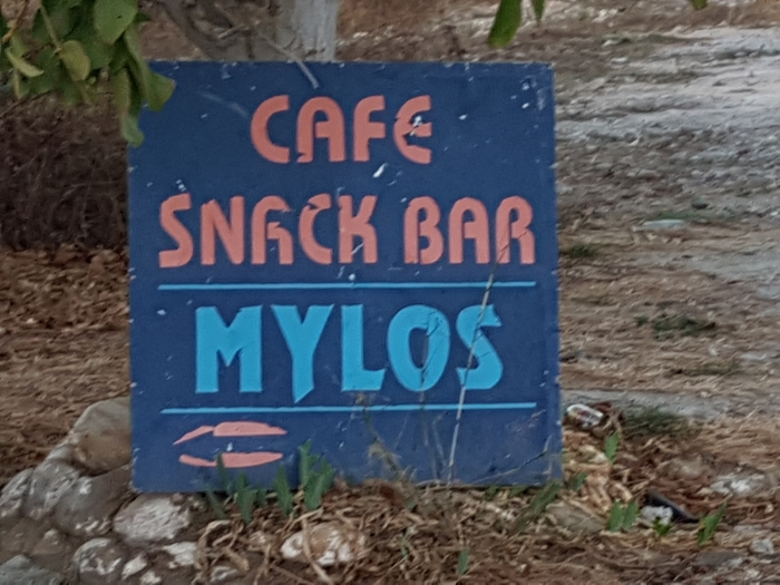 Mylos Cafe in the village of Agouseliana on Crete