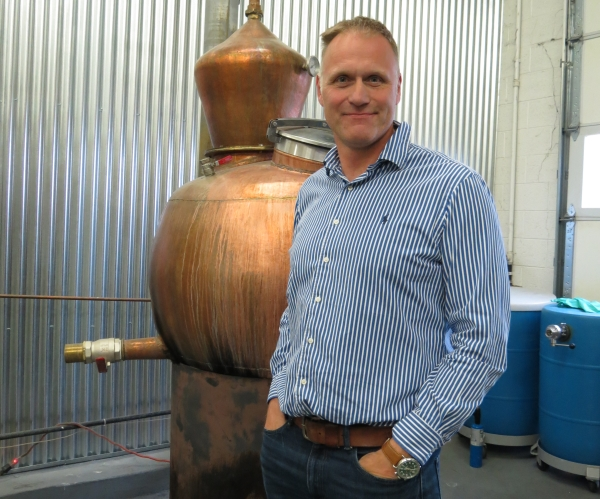 Alastair Brogan of Vapor Distillery in Boulder, Colorado